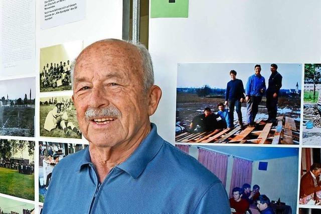 Der SV Hochdorf wird 100 – Waldemar Schätzle ist mehr als die Hälfte der Zeit mit dabei