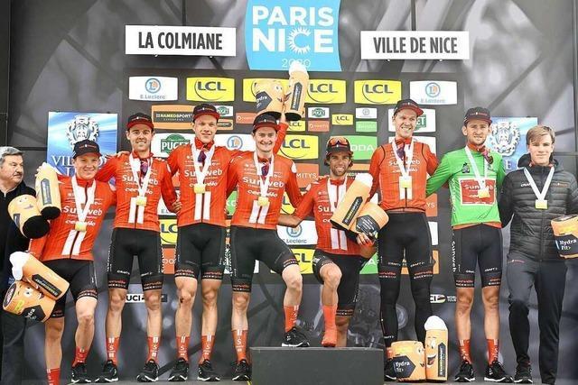 Sie fuhren noch bis Samstag: Wie Radprofi Nico Denz Paris-Nizza erlebte