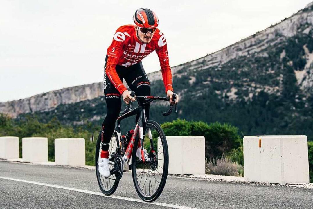 Denz belegte auf der letzten Etappe des renommierten Klassikers Platz 36.  | Foto: Team Sunweb / Vincent Riemersma