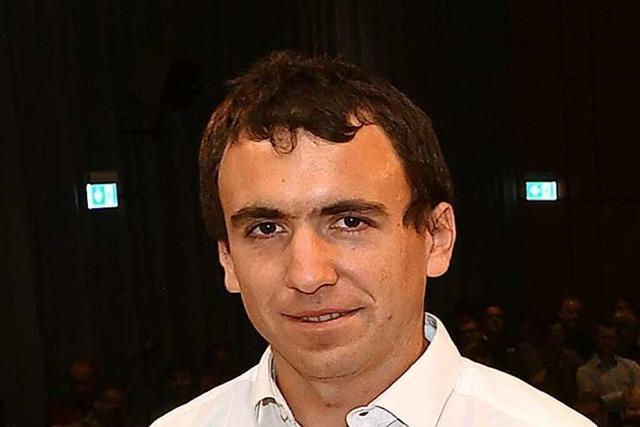 Samuel Speitelsbach will Bürgermeister in Schuttertal werden