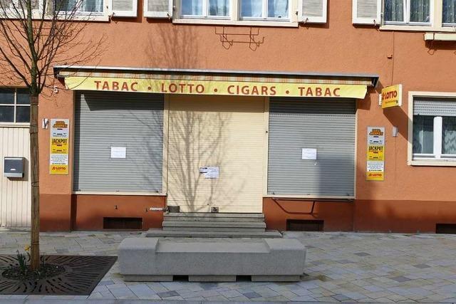 Die ersten Geschäfte sind geschlossen