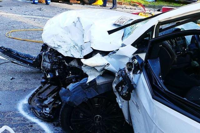 Schwerer Unfall fordert ein Todesopfer