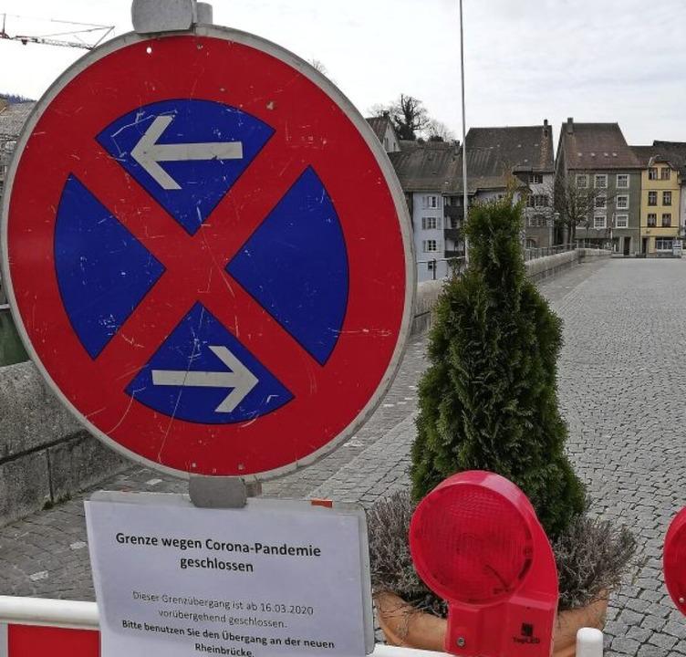 Corona macht's möglich: Die Brüc...s Altstadt bleibt vorerst geschlossen.  | Foto: Michael Krug