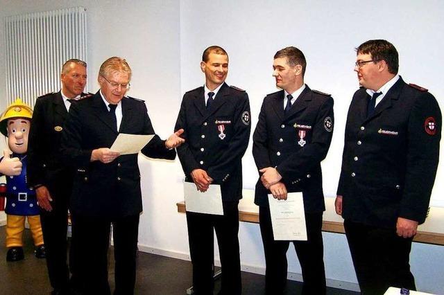 Herderns Feuerwehr verzeichnet reichlich Einsätze und Übungen