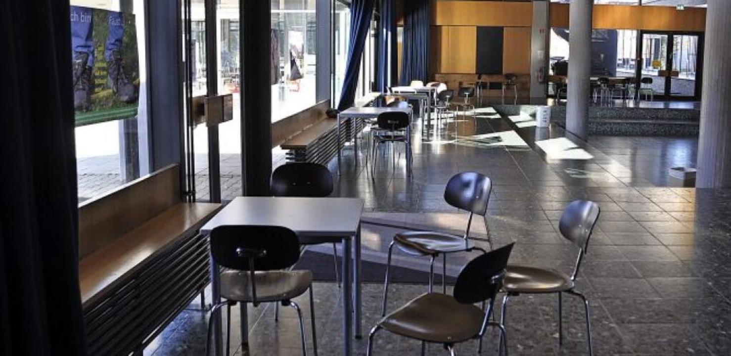 Schule ohne Schüler – auch am Fa...den kommenden Wochen ruhiger zugehen.     Foto: Rainer Ruther