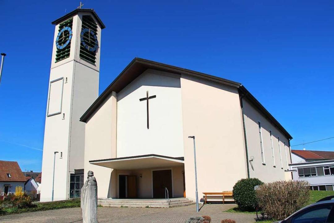 Die katholische Kirche St. Gallus in H...ndehaus ist das Pfarrbüro angesiedelt.  | Foto: Horst David