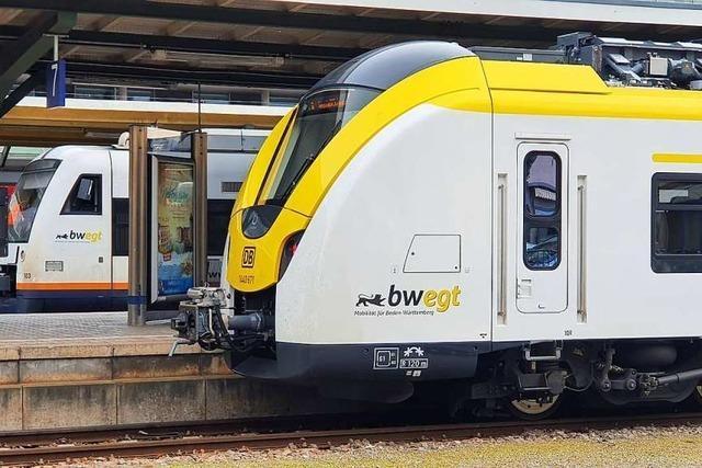 Kreis-SPD will Antworten vom Verkehrsminister zur Breisgau-S-Bahn