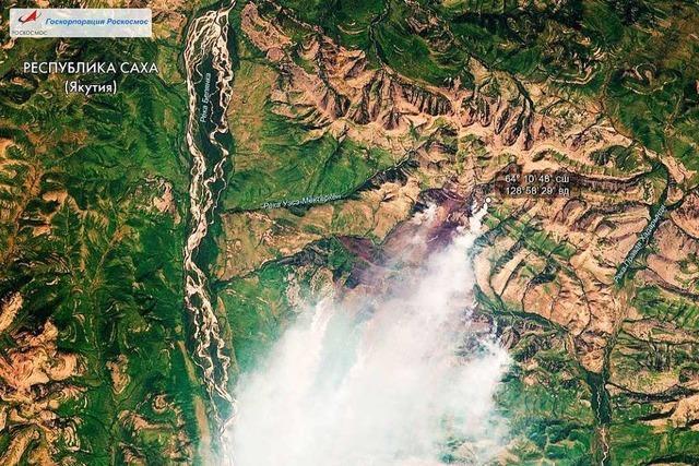 In der sibirischen Taiga beeinflussen sich Waldbrände und Klimawandel gegenseitig
