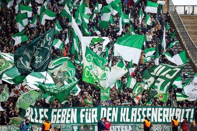Werder Bremen steht mit dem Rücken zur Wand