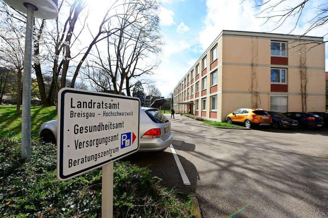 Das Gesundheitsamt ist beim Landratsam...auch für die Stadt Freiburg zuständig.  | Foto: Ingo Schneider