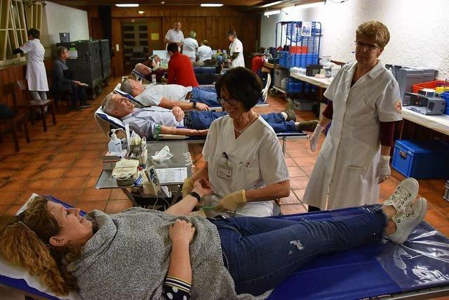In Schwörstadt spenden mehr Menschen Blut als je zuvor