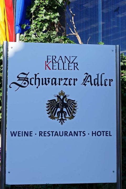 Auch der Schwarze Adler hat geschlossen.    Foto: Gerold Zink