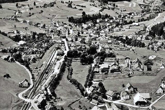 Wenige Wochen vor Kriegsende fielen noch Bomben auf Lenzkirch
