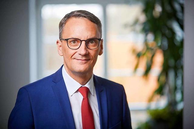 Lahrs Oberbürgermeister Ibert: