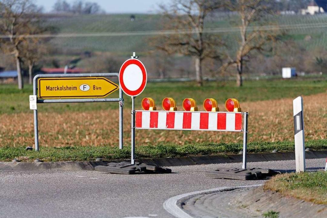 Acht Kilometer wären es normalerweise ...ind es via Breisach rund 36 Kilometer.  | Foto: Martin Wendel