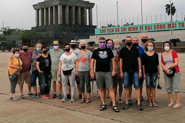 Wie eine Markgräfler Reisegruppe derzeit in Vietnam Urlaub macht