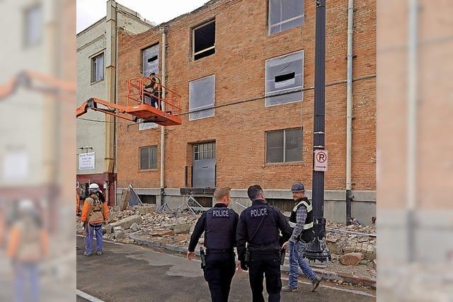 Erdbeben erschüttert Salt Lake City