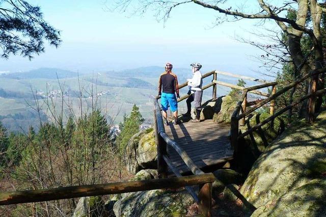 Der Felsenweg bei Kappelrodeck belohnt mit herrlichen Ausblicken