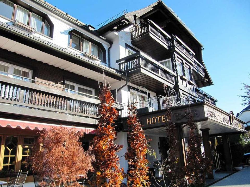 Das Hotel Adler in Häusern.  | Foto: Susanne Filz