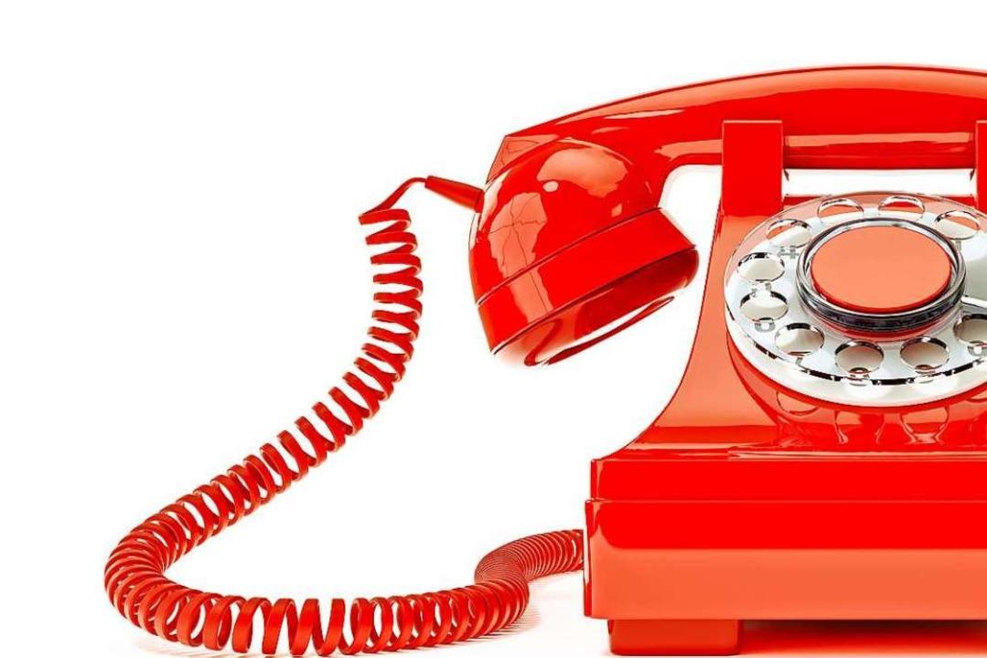 Täglich zwischen 15 und 19 Uhr kann ma...nheit Bad Säckingen-Murg telefonieren.  | Foto: magann - stock.adobe.com