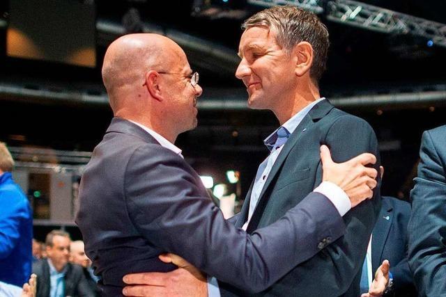 AfD-Landeschefs stellen sich gegen Höcke und seinen
