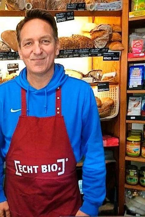 Dirk Anselms Naturkostladen hat weiterhin geöffnet.  | Foto: privat