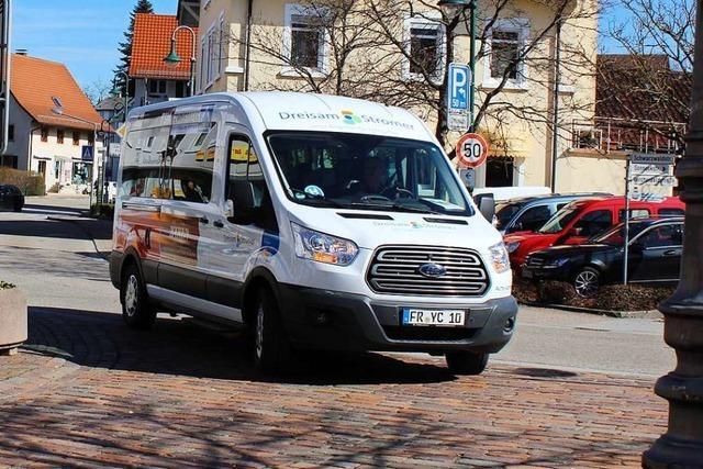 Bürgerbus Dreisam-Stromer in Kirchzarten stellt wegen Coronakrise Betrieb ein