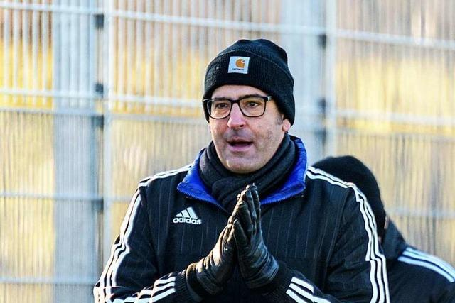 Wittlingens Fußballtrainer Tiziano Di Domenico: