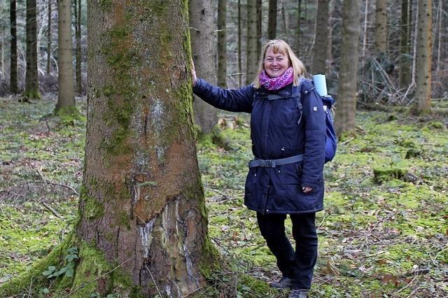 Sehend und tastend den Wald entdecken