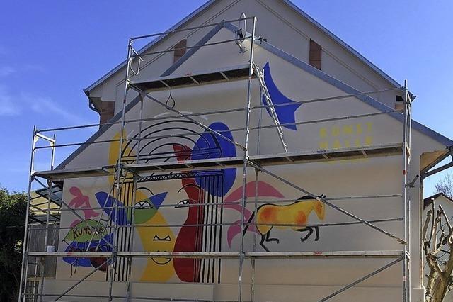 Die Fassade selbst wird zum Kunstwerk
