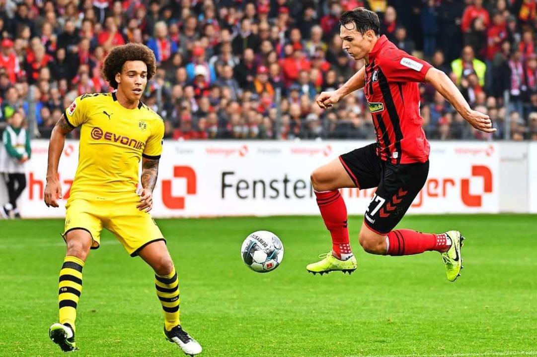 Ein ganz normales Bundesliga-Spiel, mo...im Keller</BZ-Autor_E></ZAM-BlindText>  | Foto: Achim Keller