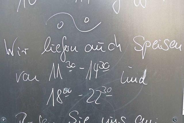 Die Rheinfelder Gastronomie steht mit dem Rücken an der Wand