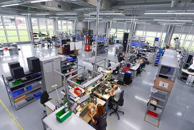 Sensopart-Produktion in Gottenheim   | Foto: Ingo Schneider