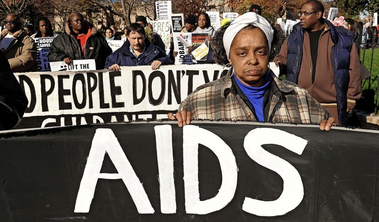 Aids hat seinen Schrecken verloren, ab...: Demonstration zum Welt-Aids-Tag 2009    Foto: Michael Reynolds