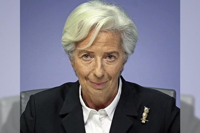 EZB-Chefin Christine Lagarde greift zum Äußersten
