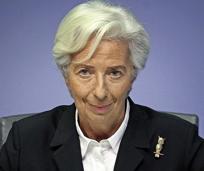 Christine Lagarde – eine mächtige Frau  | Foto: DANIEL ROLAND (AFP)