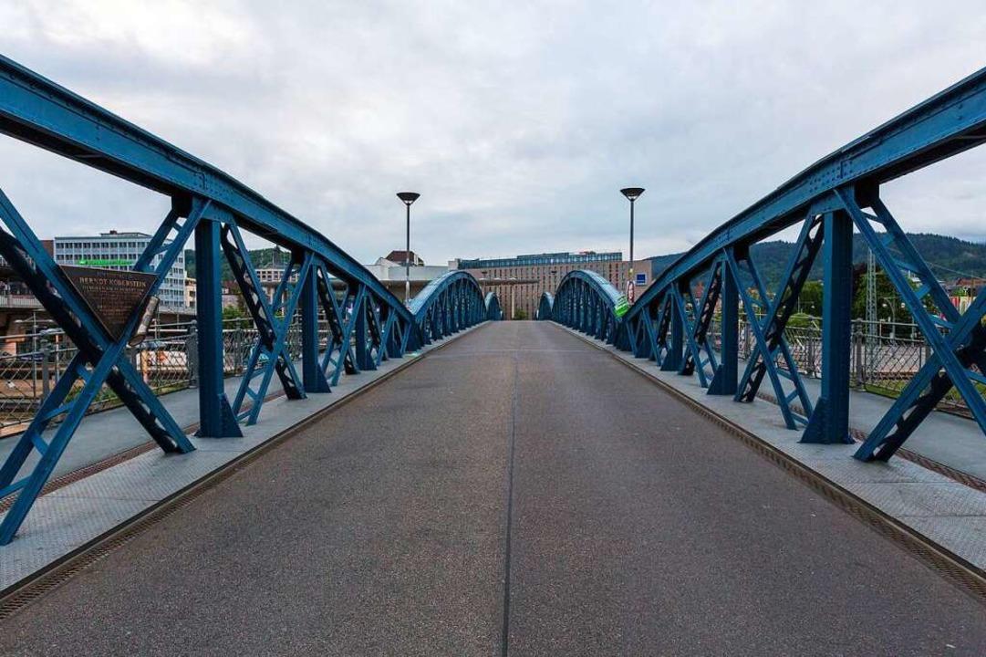Auch die Wiwili Brücke wird leer bleiben.  | Foto: Carlotta Huber