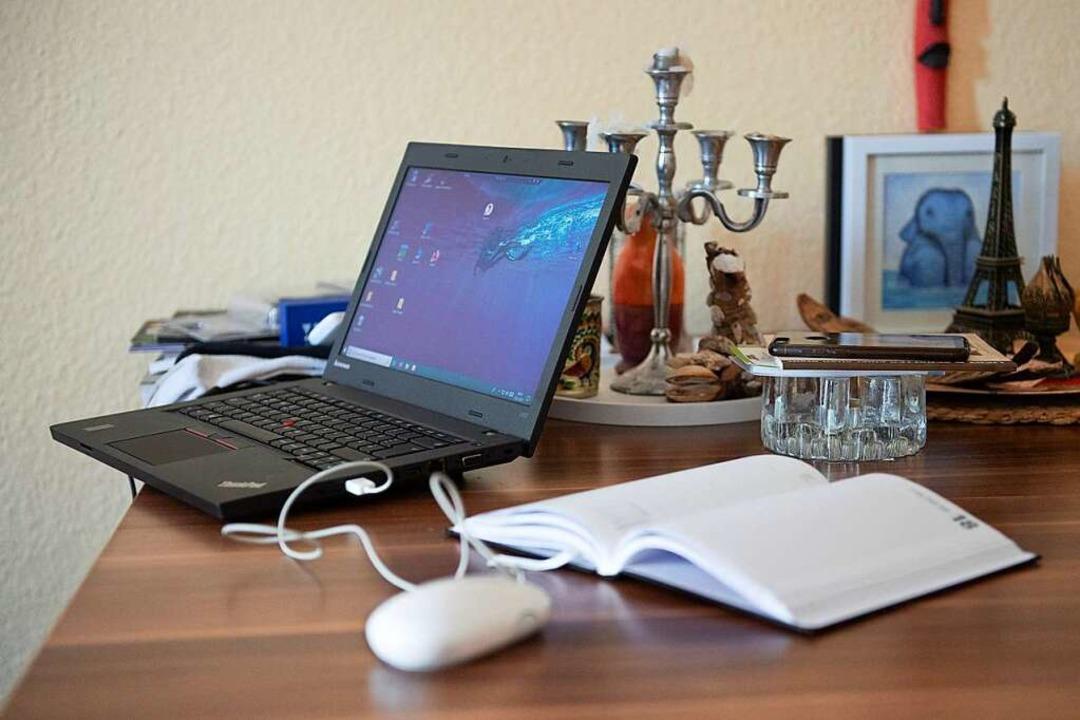 Über Skype erhalten Abiturienten Tipps...- und Studienorientierung (Symbolbild)  | Foto: Sebastian Kahnert (dpa)