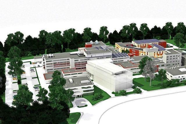 Das Diakoniekrankenhaus in Freiburg-Landwasser plant einen Neubau