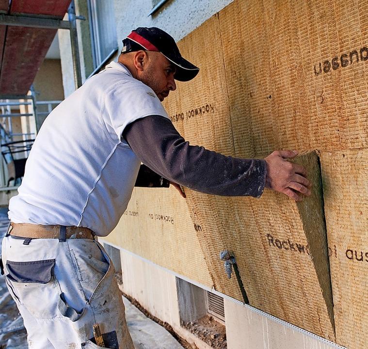 Die Fassadendämmung  braucht Vorlauf i... Eigentümerversammlung  erforderlich.   | Foto: Klaus-Dietmar Gabbert
