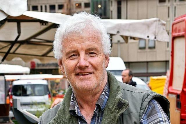 Marktbeschicker Gerald Burkhardt hört nach 35 Jahren auf