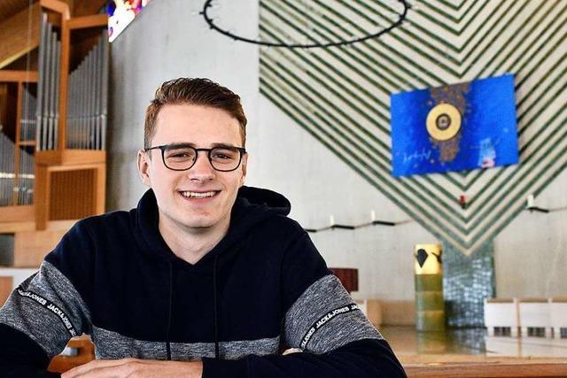 Warum dieser 18-Jährige aus Freiburg für den Pfarrgemeinderat antritt