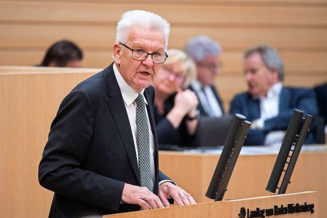 Winfried Kretschmann  | Foto: Marijan Murat (dpa)