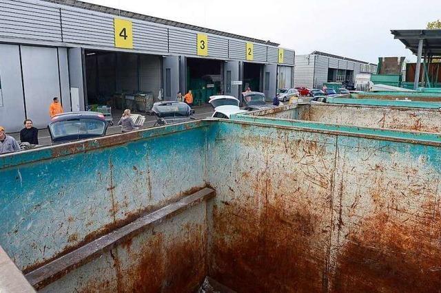 Freiburgs Recyclinghöfe sind ab Samstag geschlossen