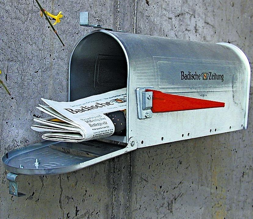 Aktuelle Informationen gibt es von der BZ gedruckt und online.  | Foto: Badische Zeitung