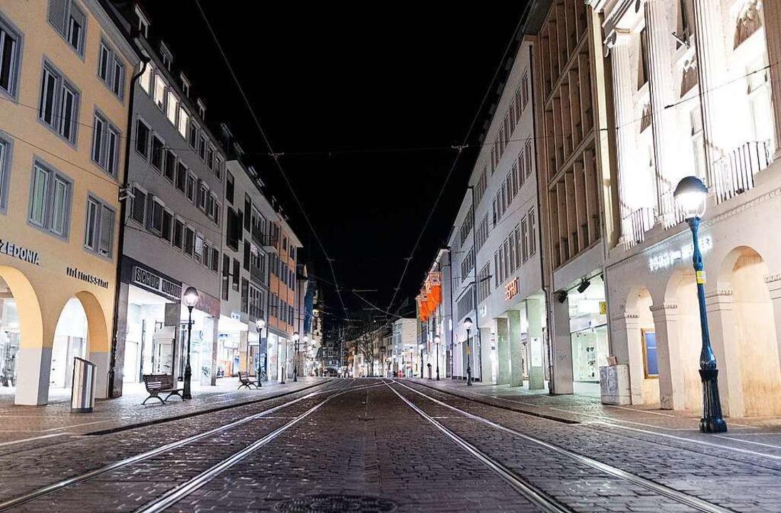 Ausgangssperre für größere Gruppen in Freiburg