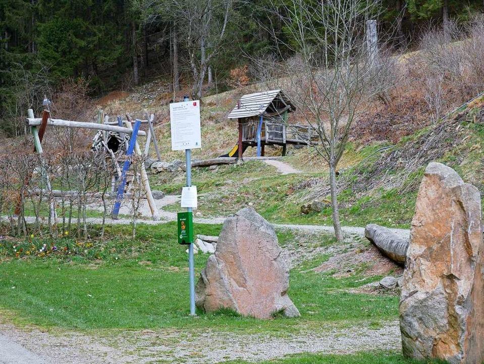 Leere Spielplätze, wie hier am Felsele.  | Foto: Eva Korinth