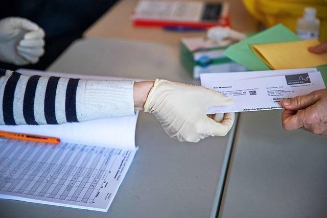 Der Wahltag am Sonntag in Kandern wird außergewöhnlich