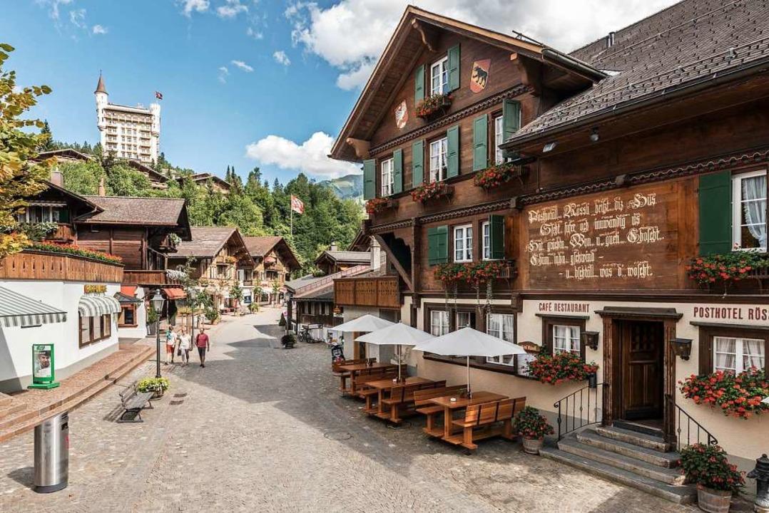 Die Hotelvielfalt ist groß in Gstaad. ...otel Rössli ist  das älteste Gasthaus.  | Foto: Gstaad Tourismus