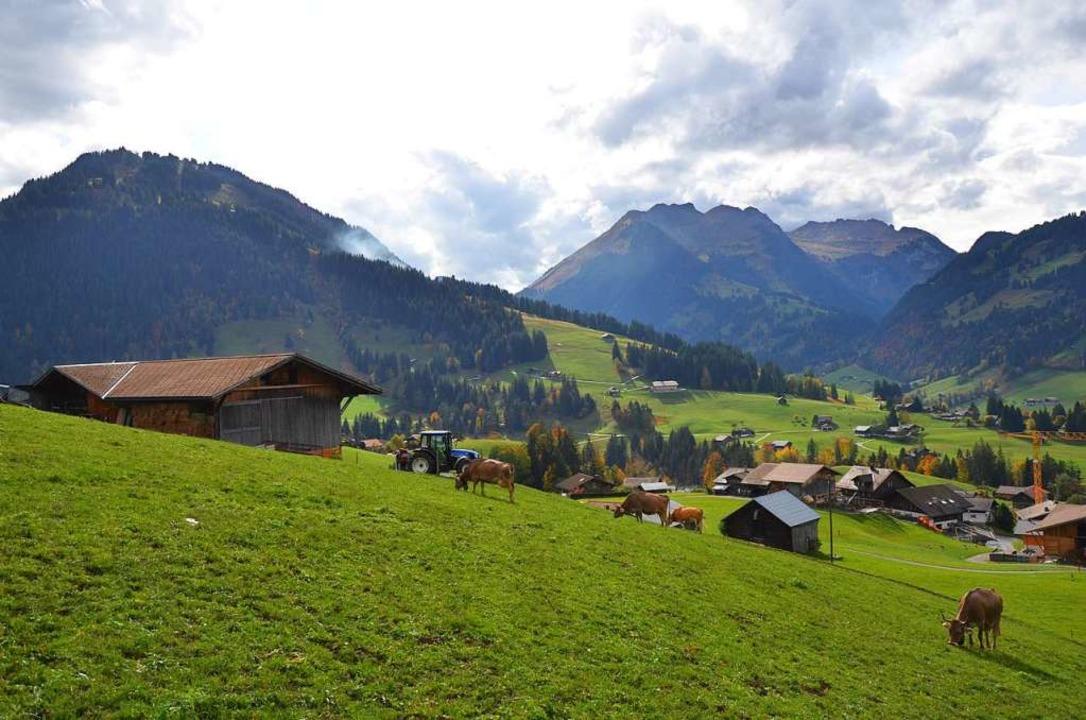 Die bodenständige Seite von Gstaad: Eine Reise wert.  | Foto: Ulrike Ott